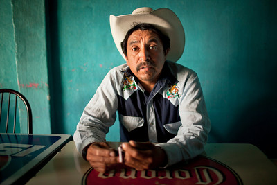 Lorenzo Gonzalez, a rancher/campesino from San Miguel de Allende, is also a community organizer for the PAN party, the political right party of Mexico. In the national elections held July 1, 2012, PAN put forth Mexico's first female candidate for president from a major political party.